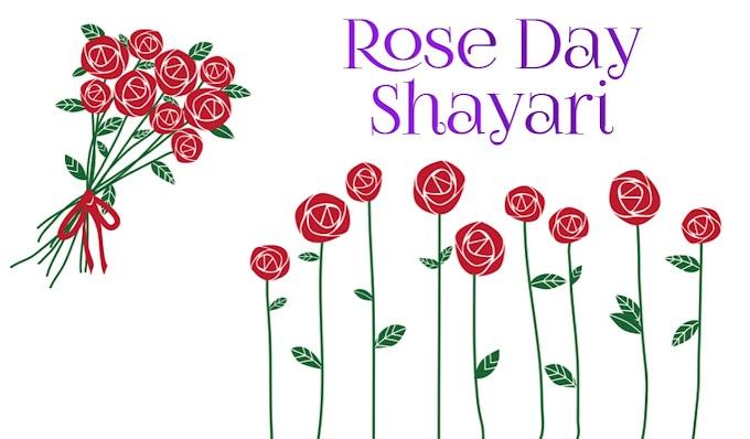 7 फरवरी : रोज डे को मनाए इन शायरियों से खास ~Best happy Rose day shayari and status