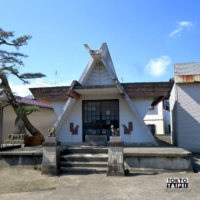 【勇稻荷神社】車站旁神秘小神社 本殿是六角星形建築