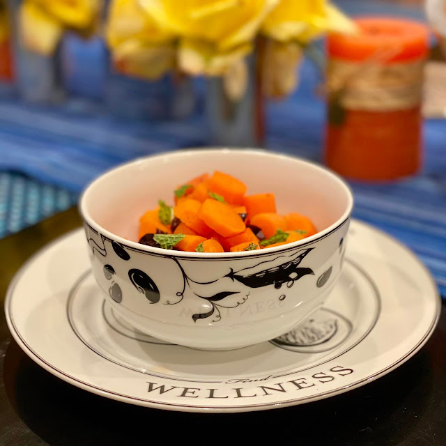 Spiced Braised Carrots with Olives and Mint Served Up on Livliga
