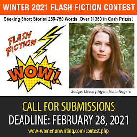 Winter 2021 Flash Fiction Contest - Deadline February 28, 2021