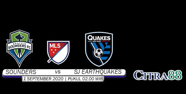 PREDIKSI SEATTLE SOUNDERS VS SJ EARTHQUAKES 11 SEPTEMBER 2020
