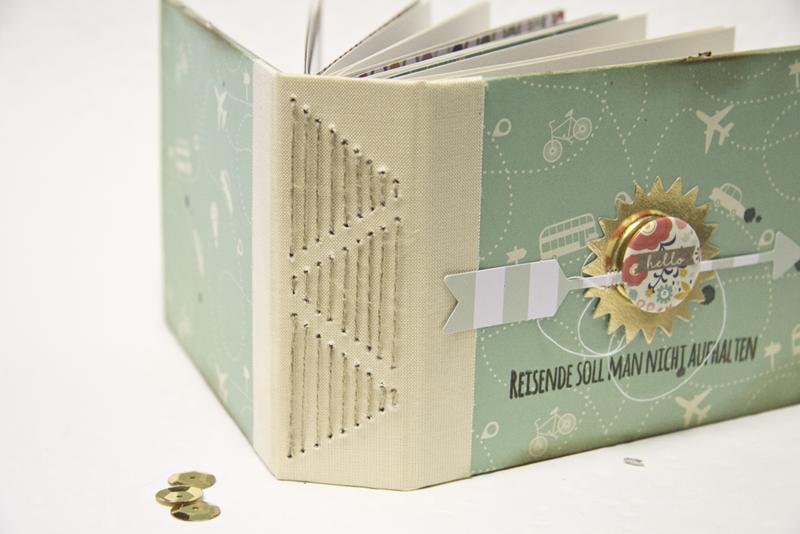 Minibook Tutorial Sewn Binding