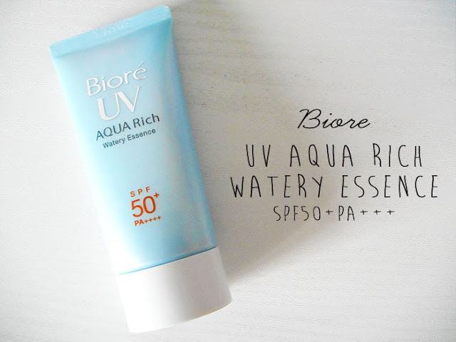 đánh giá Biore Aqua Rich Watery Essence Water base