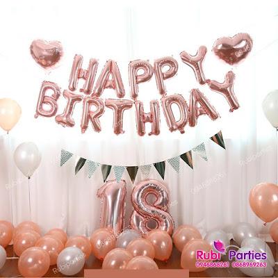 Set bóng trang trí sinh nhật cho người yêu SNNY03