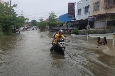 Banjir Kembali Terjadi di Sejumlah Wilayah Kota Pekanbaru