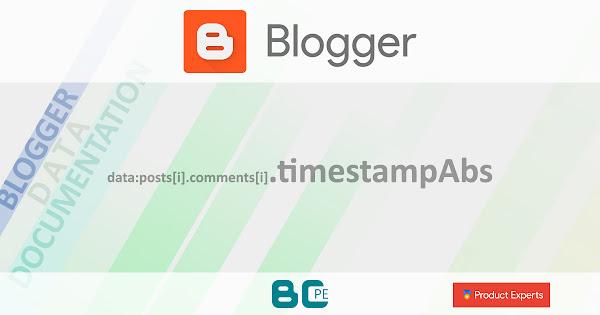 Blogger - Gadget Blog - data:posts[i].comments[i].timestampAbs