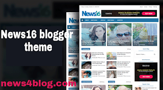 News16 blogger theme