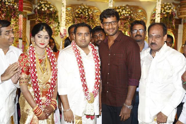 Producer Abinesh Elangovan - Nandhini Wedding Photos
