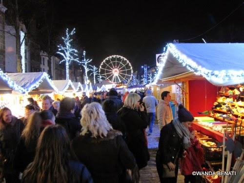 Bruxelles, il Mercatino di Natale