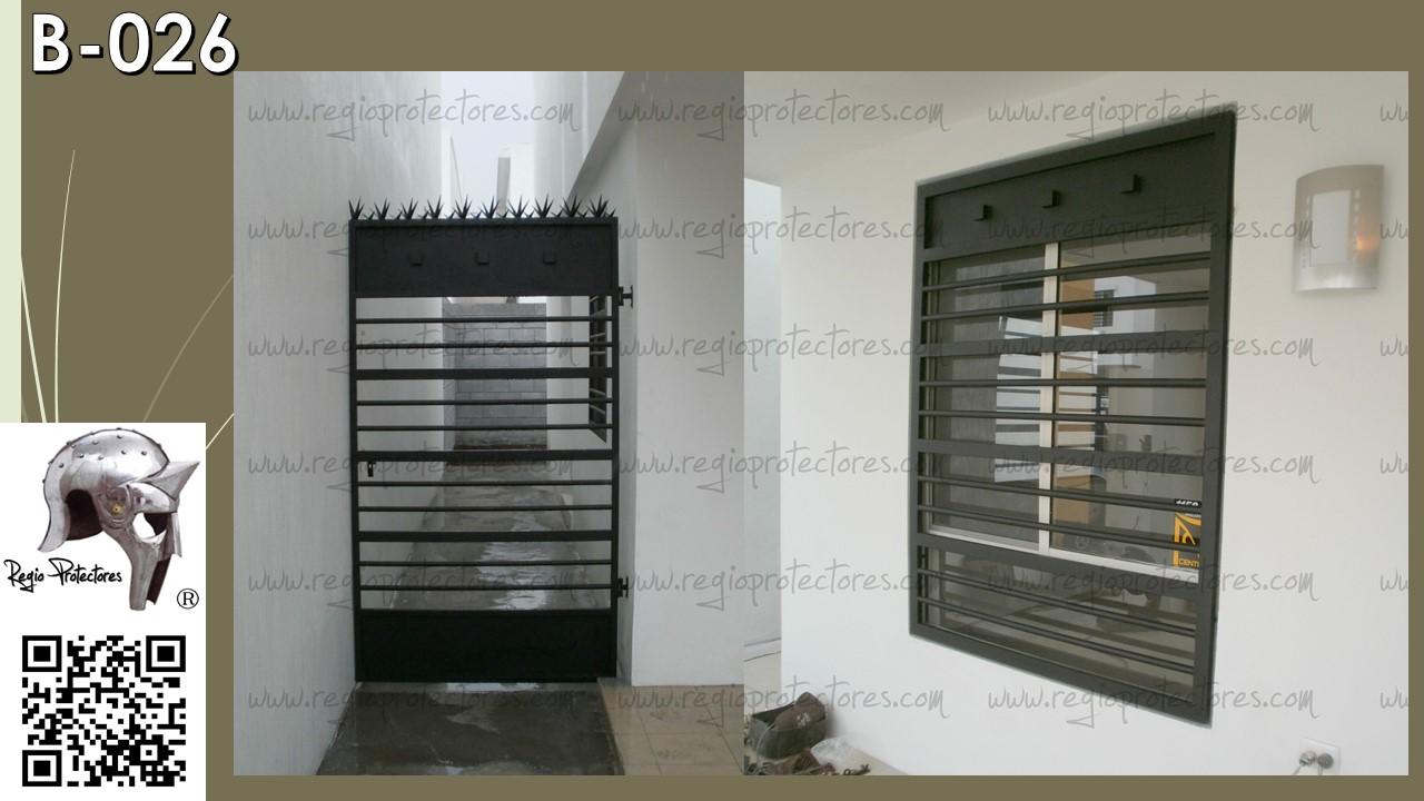 Regio protectores protectores para ventanas clase b for Puertas para patios modelos