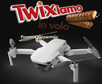 """Logo Concorso """"Twixiamo in volo"""" : con Twix, Mars, Bounty e Snickers vinci 27 Droni DJI Mavic Mini"""