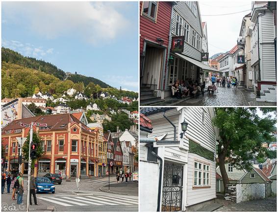 Detalles de Bergen. Hurtigruten dia 1: Bergen