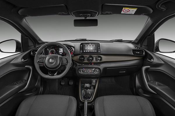 Interior Fiat Cronos S-Design II