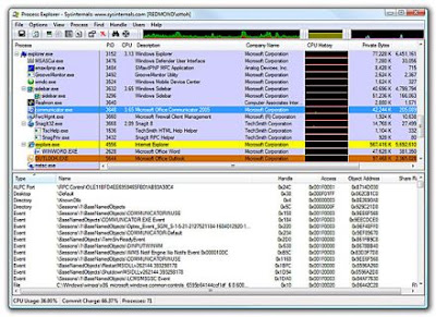 Process Explorer, Windows 7, Windows, System, System Info