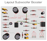 PCB Subwoofer Booster
