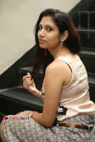 Actress Vanditha Stills in Short Dress at Kesava Movie Success Meet .COM 0269.JPG
