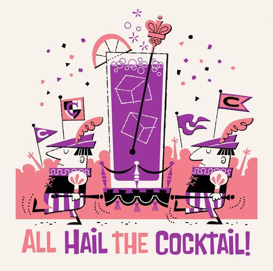 I cinque cocktail preferiti di una vecchia spugna*
