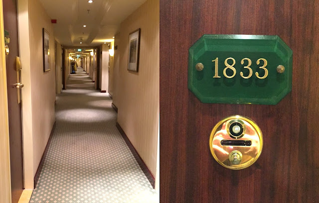 Hotel InterContinental Frankfurt travel diary