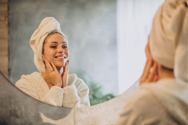 dry skincare routine