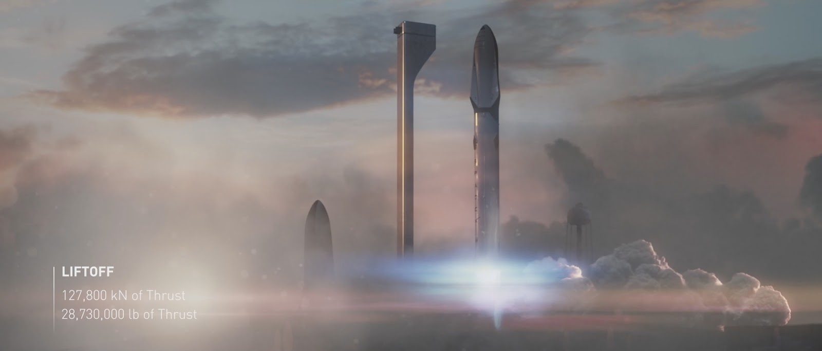 Launch of Mars Colonial Transporter by SpaceX
