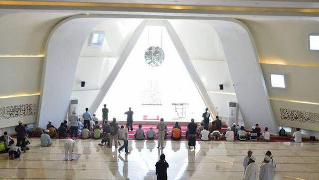 Masjid Al-Safar Rancangan Ridwan Kamil Masuk Nominator Arsitektur Terbaik di Arab Saudi