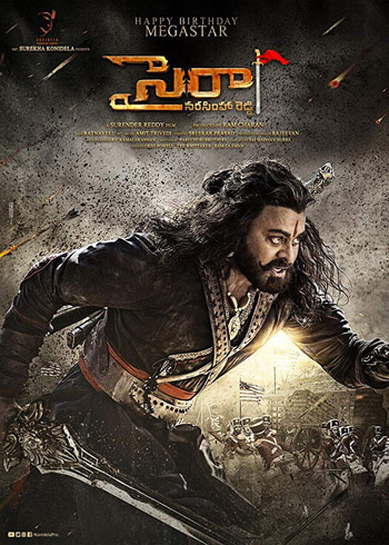 Sye Raa Narasimha Reddy 2019 Tamil Movie PreDVD 480p 400MB poster