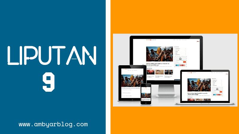 Template Blogger Liputan 9 Premium Gratis