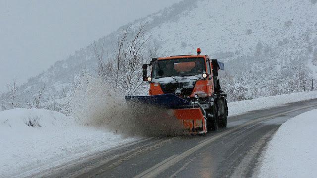 Προβλήματα στο ορεινό οδικό δίκτυο της Πελοποννήσου