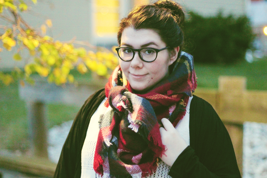 Dusters & Scarves | www.katielikeme.com #fashion #outfit #plussize