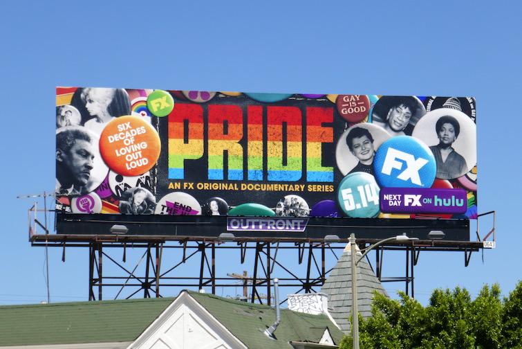 Pride series premiere billboard