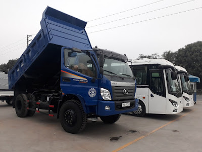 Xe ben Thaco FD9500 thùng ben 7.5 m3 tại hải phòng