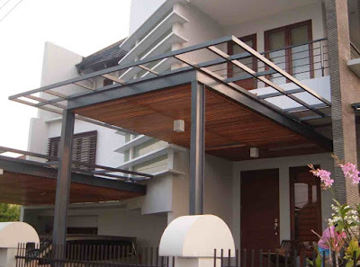 teras rumah minimalis yang sederhana tapi mewah terbaru
