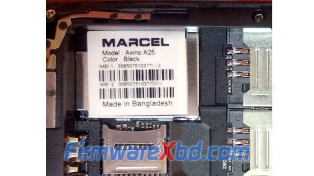 Marcel A25 6531E Flash File Download
