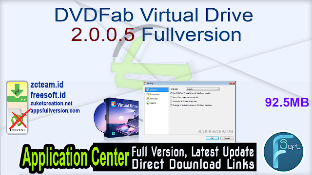 DVDFab Virtual Drive 2.0.0.5 Fullversion
