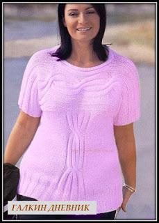 prostoi-pulover-spicami   stricken   बुनाई   breiwerk