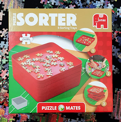 Puzzle Mates Puzzle Sorting Trays review for Jumbo Games