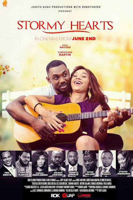 Watch Trailer Of Judith Audu's Movie STORMY HEARTS In Cinemas From June 2nd