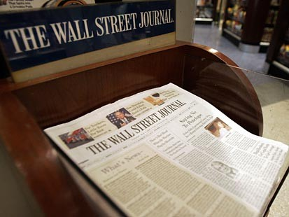 Wall Street Journal Subscription Wall Street Journal