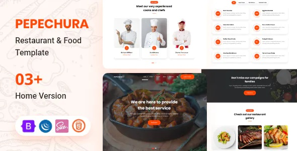 Best Restaurant and Food Template