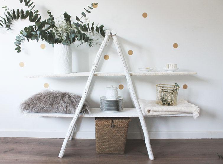 Petitecandela blog de decoraci n diy dise o y muchas for Estanteria de escalera
