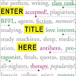 Book review: ENTER TITLE HERE by Rahul Kanakia