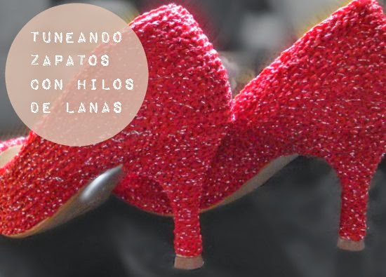 zapatos, customizar, croché, ganchillo, tutoriales, vídeos