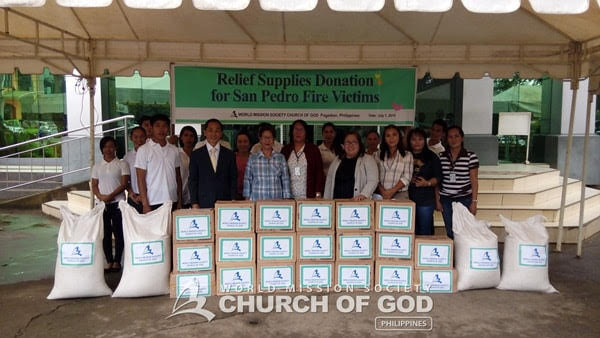 Donations for Pagadian Fire Victims