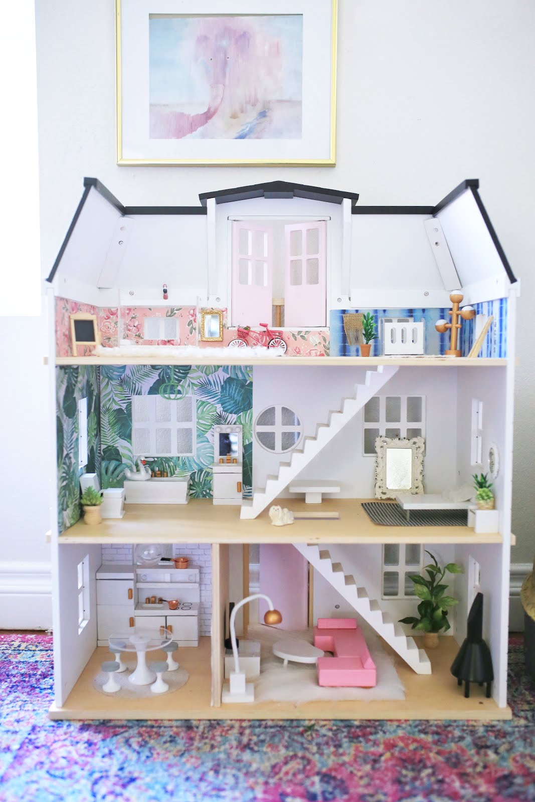 a little j+k: dollhouse revamp