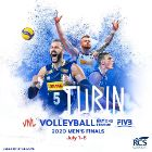 Volleyball Nations League 2020, finale maschile a Torino