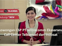 Lowongan Call Center PT.Telkom Indonesia Padang - CSP (Customer Service Provider) Mitracomm Ekasarana