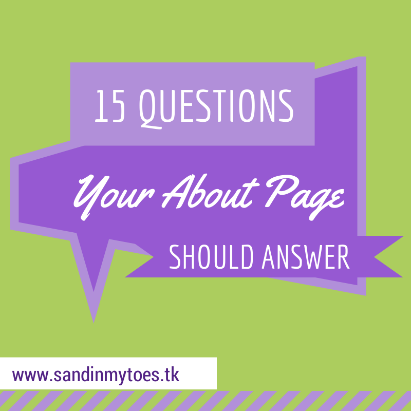 15 questions your About page should answer