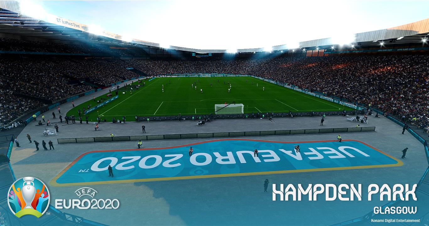 PES 2021 Hampden Park