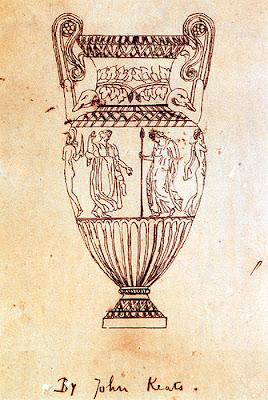 Dibujo del jarrón de Sosibios John Keats