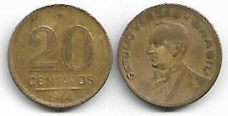 20 centavos, 1944